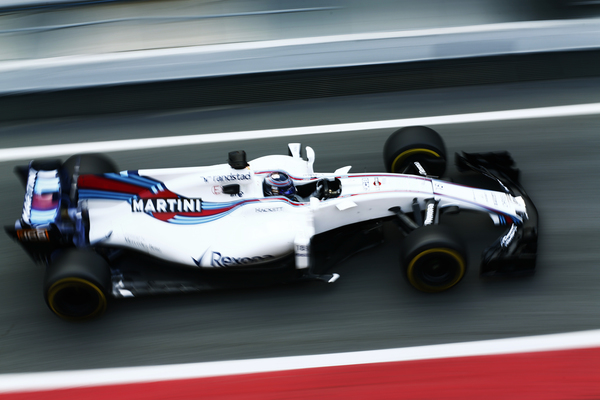 Barcelona pre-season test 2 - Williams Martini Racing. Lance Stroll