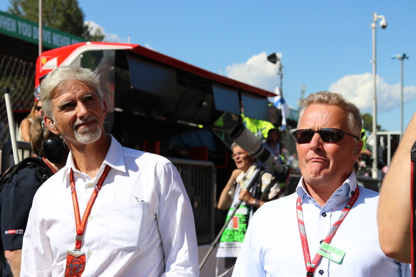 Damon Hill og Johnny Herbert