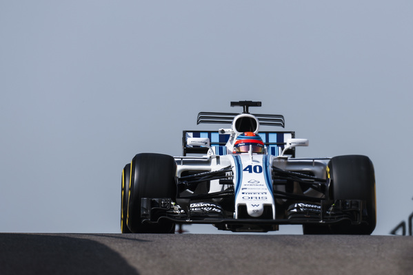 Kubica tester for Williams