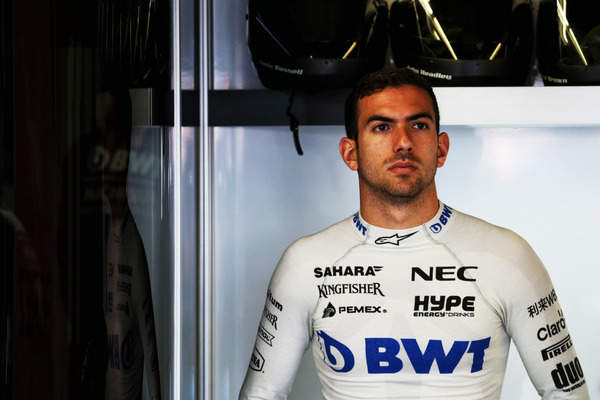 Nicholas Latifi testkører for Force India