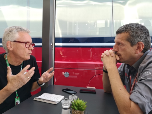 BMF1 eksklusivt interview med Günther Steiner, Monza 2018