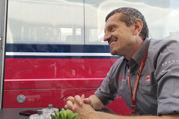BMF1 eksklusivt interview med Günther Steiner