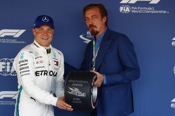 Ruslands Grand Prix 2018. Valtteri Bottas på pole position