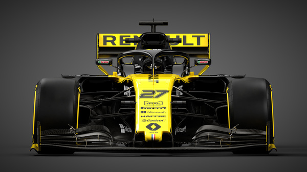 The Renault Sport F1 Team RS19. Renault Sport F1 Team RS19 Launch, Tuesday 12th February 2019, Enstone, England