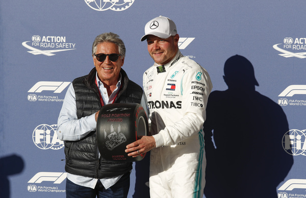 USAs Grand Prix 2019. Valtteri Bottas på pole position