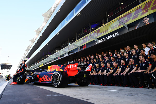 Abu Dhabis Grand Prix 2019. Red Bull team foto